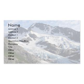 glaciar tarjetas de visita