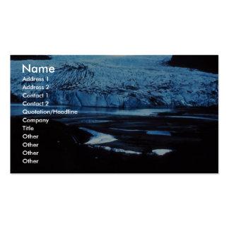 Glaciar Tarjetas Personales