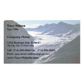 Glaciar Tarjeta De Visita