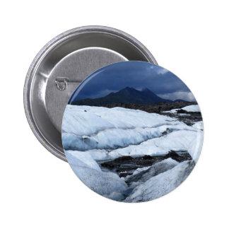 Glaciar y una montaña pins