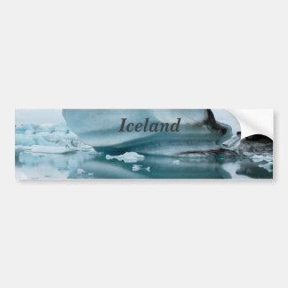 Glaciares de Islandia Pegatina Para Auto