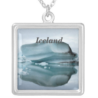 Glaciares de Islandia Colgante Cuadrado