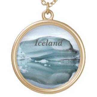 Glaciares de Islandia Colgante Redondo