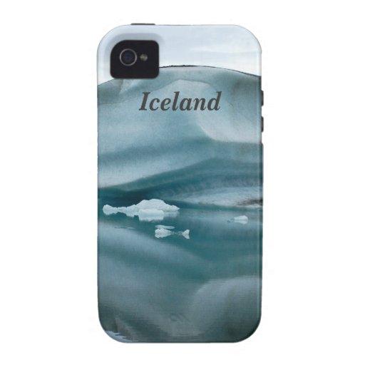 Glaciares de Islandia iPhone 4 Fundas