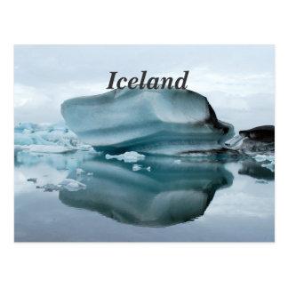 Glaciares de Islandia Tarjetas Postales
