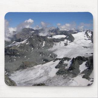 Glaciares en el fuerte de Mont Alfombrillas De Ratones