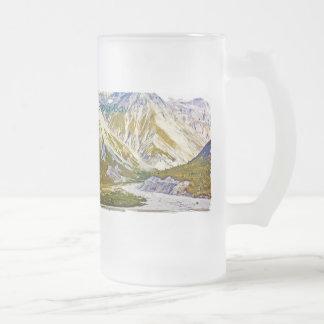 Glacier Bay 3 Frosted Glass Mug
