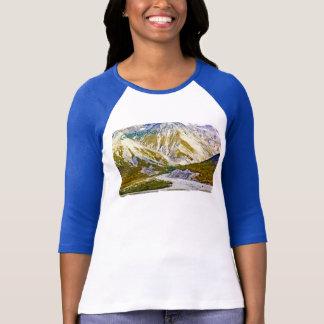 Glacier Bay 3 Ladies 3/4 Sleeve Raglan (Fitted) T-Shirt