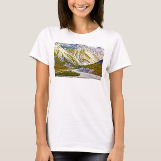 Glacier Bay 3 Ladies Ladies Baby Doll (Fitted) T-Shirt