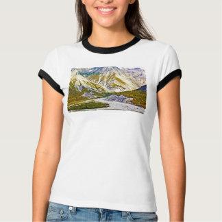 Glacier Bay 3 Ladies Ringer T-Shirt