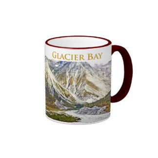 Glacier Bay 3 Ringer White Mug