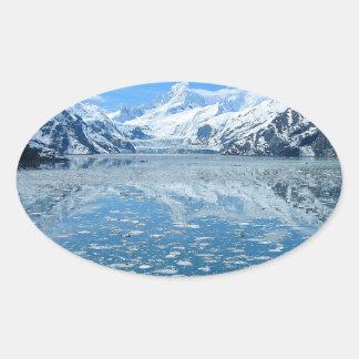 glacier-bay-8064 oval sticker