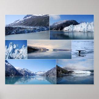 Glacier Bay Alaska 14 x 11 Poster