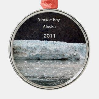 Glacier Bay, Alaska 2011 Metal Ornament