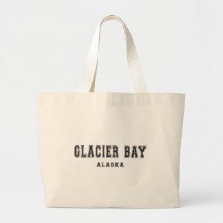 Glacier Bay Alaska Bolsa De Tela Grande