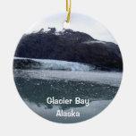 Glacier Bay, Alaska Ornamentos De Navidad