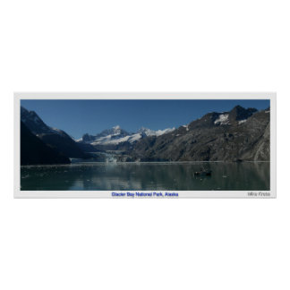 Glacier Bay, Alaska Poster
