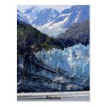 Glacier Bay, Alaska Tarjeta Postal