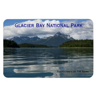 Glacier Bay de la montaña de Beartrack Imán De Vinilo