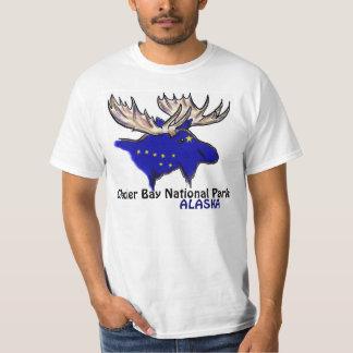 Glacier Bay National Park Alaska elk value tee