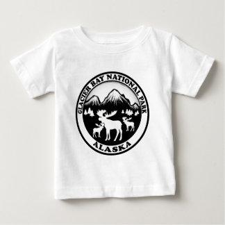 Glacier Bay National Park Alaska moose circle Baby T-Shirt