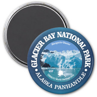 Glacier Bay National Park (color) Magnet