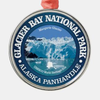 Glacier Bay National Park (color) Metal Ornament