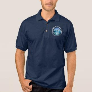 Glacier Bay National Park (color) Polo Shirt