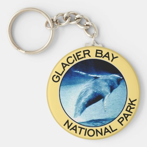 Glacier Bay National Park Keychains
