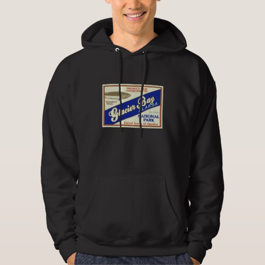 Glacier Bay National Park (Whale) Hoodie