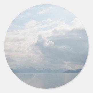 Glacier Bay Pegatina Redonda