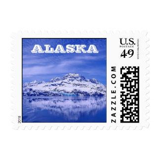 Glacier Bay Reflections - Alaska Postage Stamp