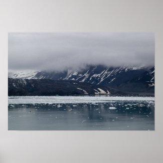 Glacier Bay Scenic Poster print