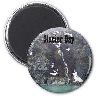 Glacier Bay Waterfall Magnet