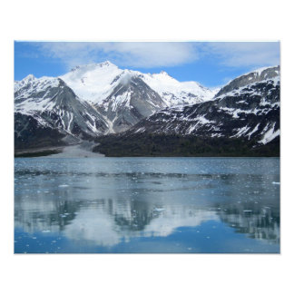 Glacier Bay with reflection Photographic Print
