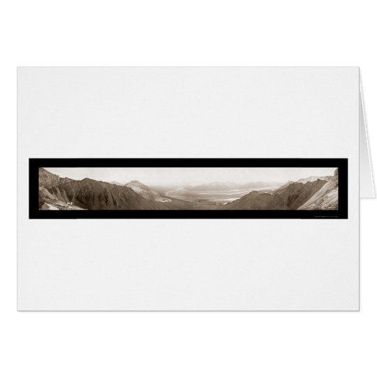 Glacier & Bonanza Mine Photo 1903 Card