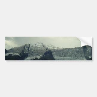Glacier Bumper Sticker