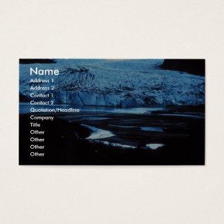 Glacier Business Card