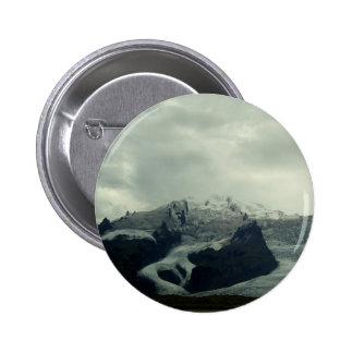 Glacier Pinback Button