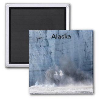 Glacier calving in Alaska Magnet