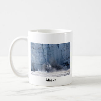 Glacier calving in Alaska Classic White Coffee Mug
