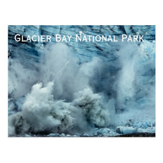 Glacier Calving Postcard Postcards