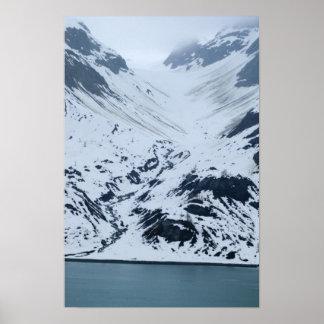 Glacier Carving Poster