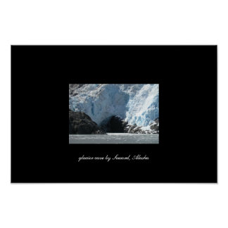 Glacier Cave Poster
