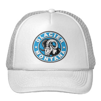 Glacier Circle Logo Trucker Hat