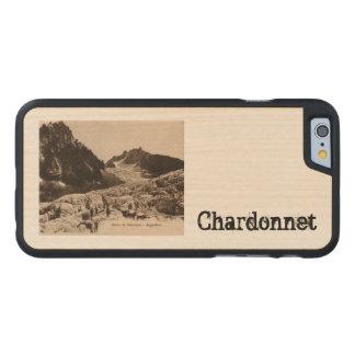 Glacier de Chardonnet - Argentiéres Haute Saboya Funda De iPhone 6 Carved® Slim De Arce