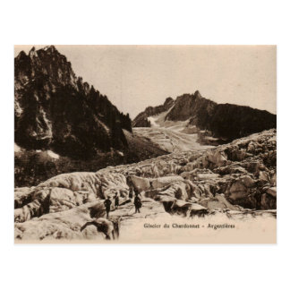 Glacier de Chardonnet - Argentiéres Haute Savoie Post Cards
