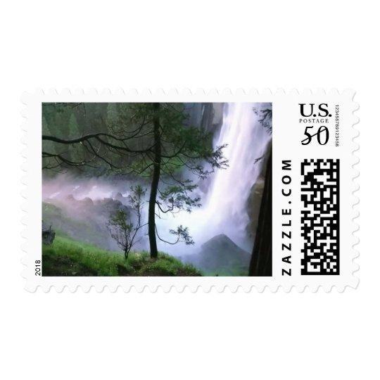 Glacier Falls Postage