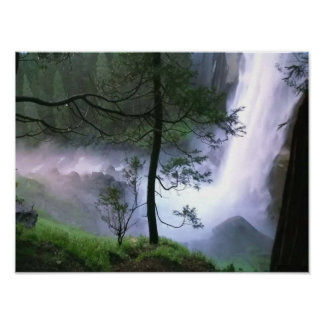 Glacier Falls Poster