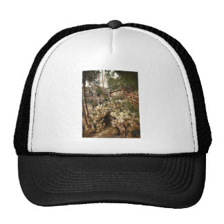 Glacier garden, the grotto and club house, Lucerne Trucker Hat